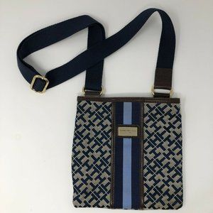 Tommy Hilfiger Crossbody Purse Bag Navy Blue Logo